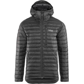 Rab Microlight Alpine Long Jacket Men black